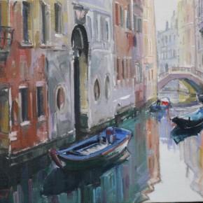 映える運河